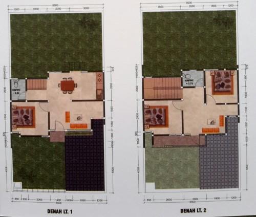 rumah type 100, rumah dijual di solo, harga rumah di solo