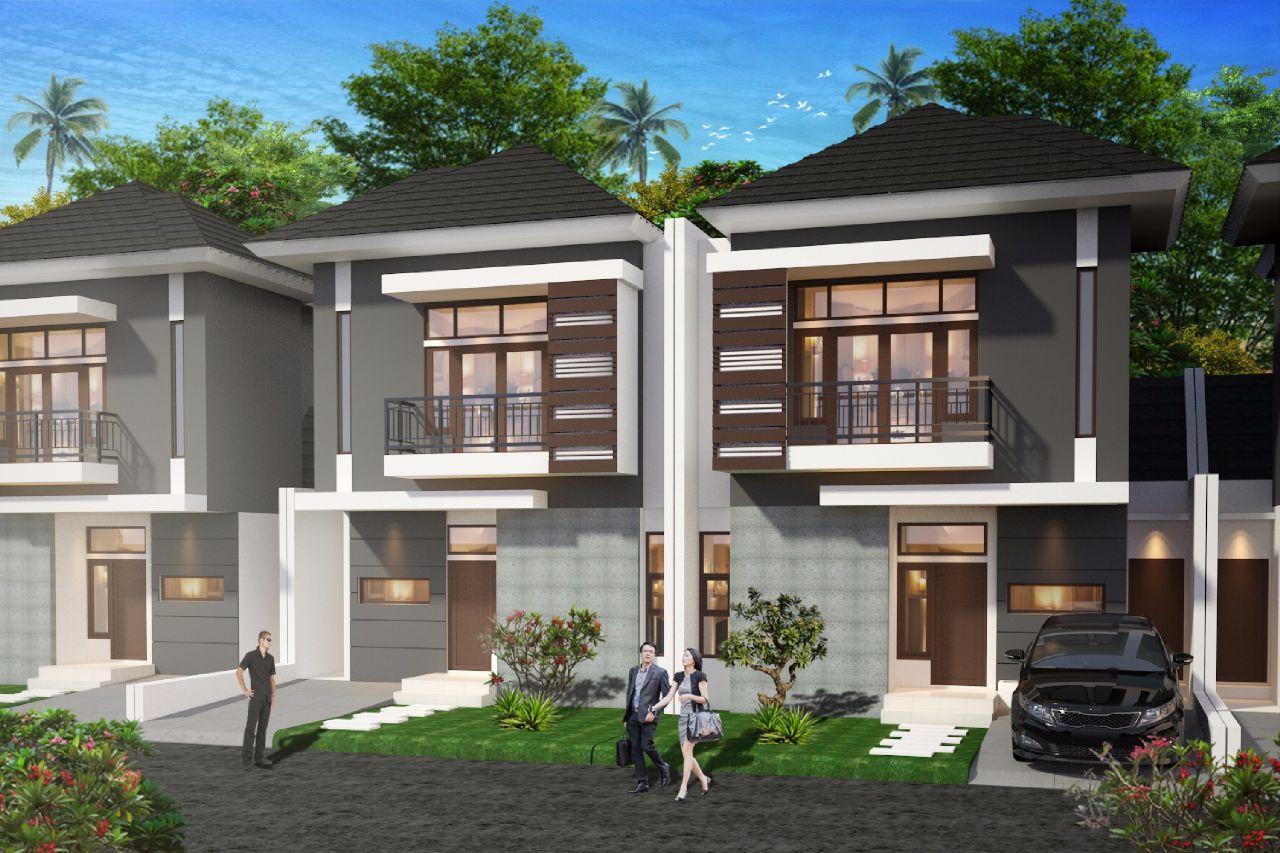 denah new denah rumah 3 kamar luas tanah 100 meter